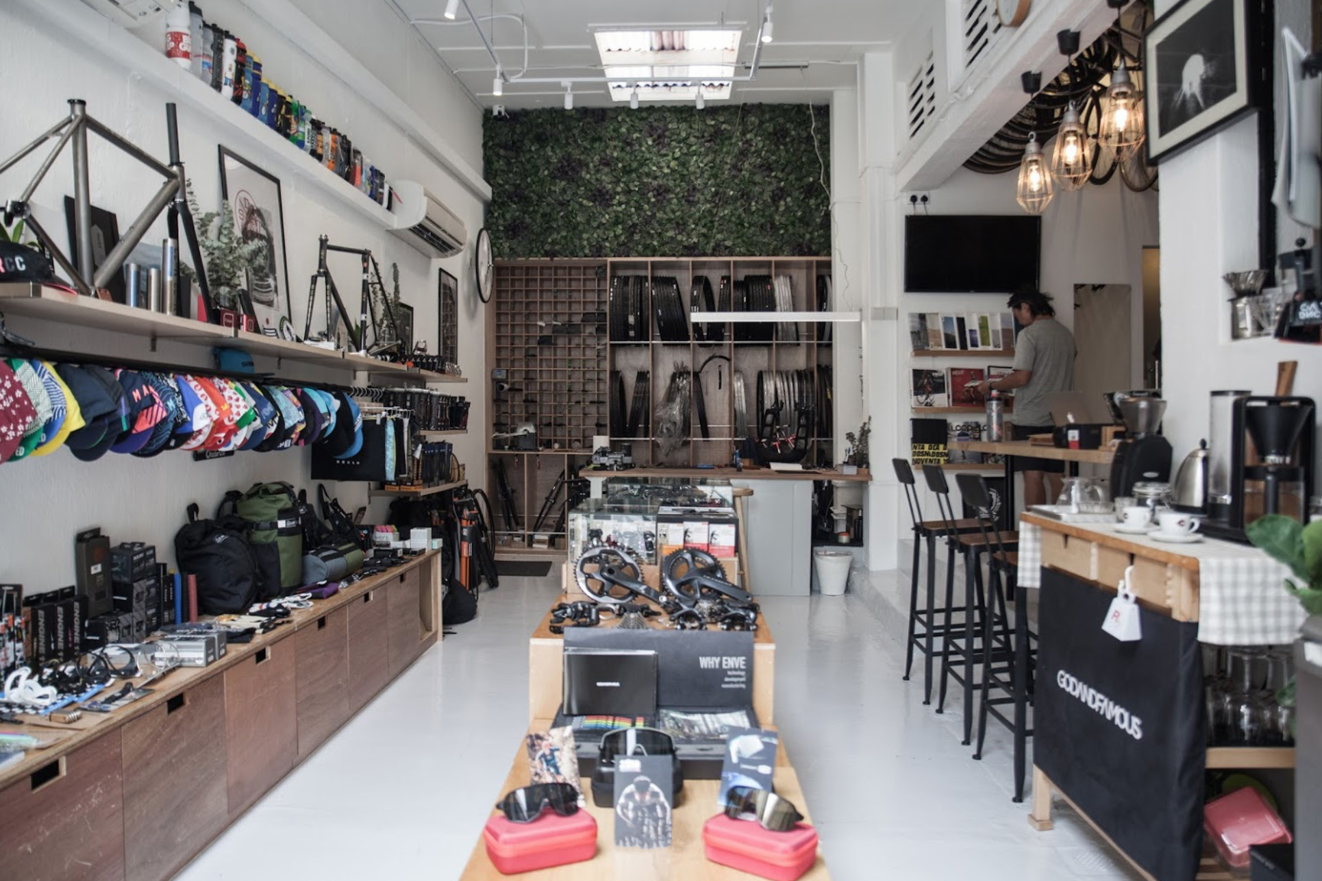 CycleProjectStore Interior
